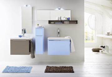 Badmöbel mit zwei Waschtischen