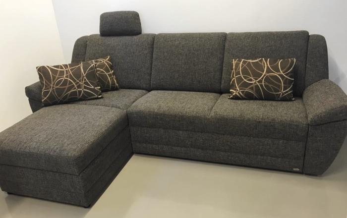 Sofa Prisma, verwandelbar in ein Doppelbett