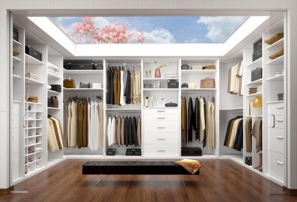 Begehbare Schlafzimmer-Schränke