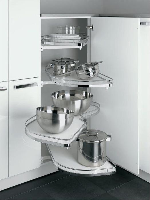 Küchendeitail Eckschrank