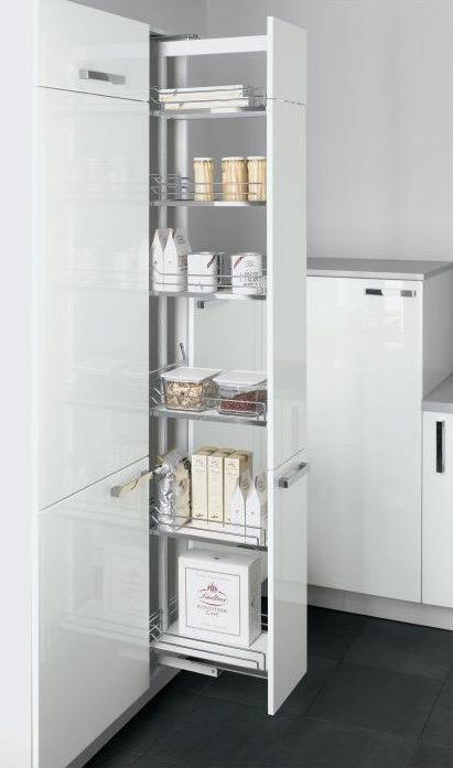Küchendeitail Auszugsschrank