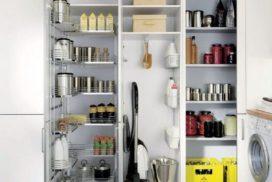 Küchendeitail Vorratsschrank