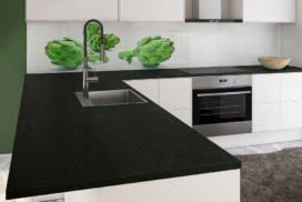 Küchendeitail Arbeitsplatte Naturstein
