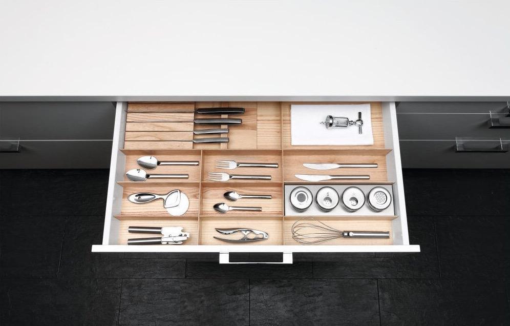 Küchendeitail Auszugslade
