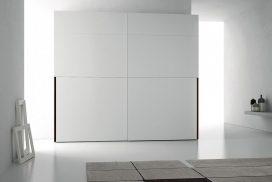 Schlafzimmer-Schrank in weiß