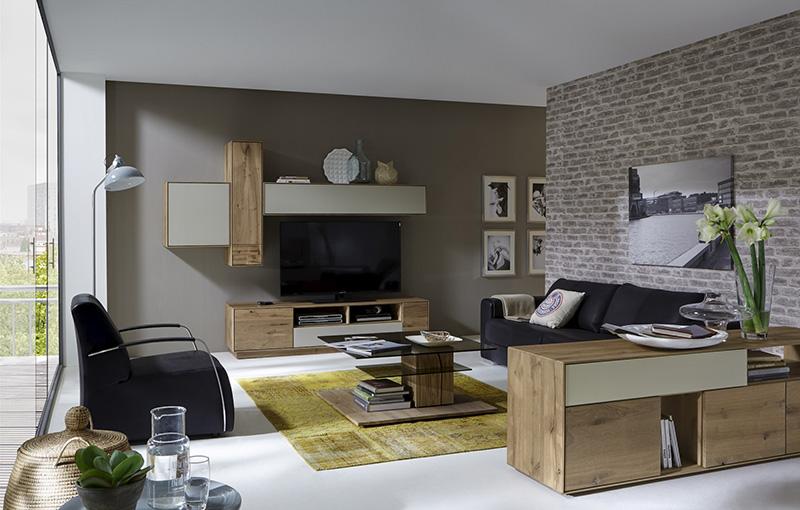 Wohnzimmer, Kerneiche Umato