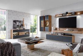 TV-Möbel, Sideboard, Tisch in Kerneiche Umato