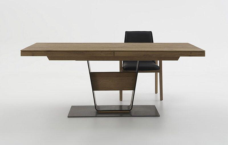 Massivholz-Speisezimmertisch ausziehbar