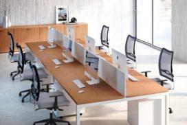 Workstation für 6 Arbeitsplätze