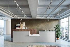 Empfangsbereich Büro oder Praxis