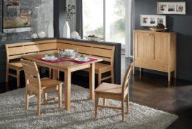 Klassische Eckbank, Tisch, Stühle