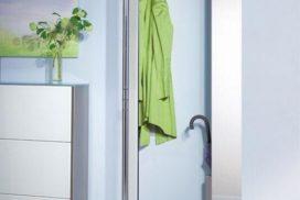 Garderobe mit Spiegeltüren