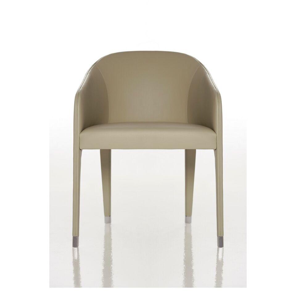 Stuhl mit Rücken- und Armlehnen