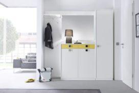 Garderobe weiß