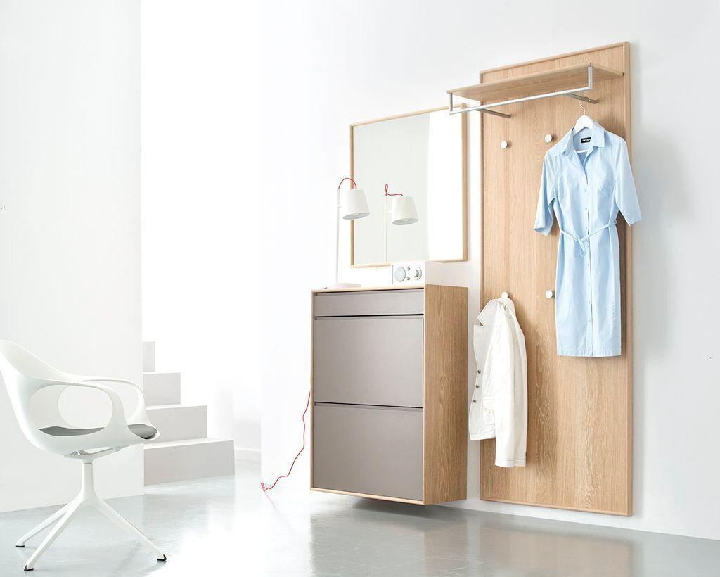 Garderobe Holz