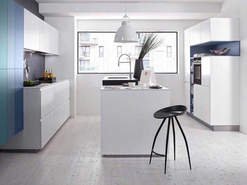 Küche weiss /grau