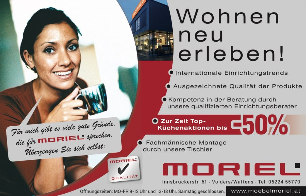 Aktionen Aus Unserer Werbung Möbel Moriel Gmbh