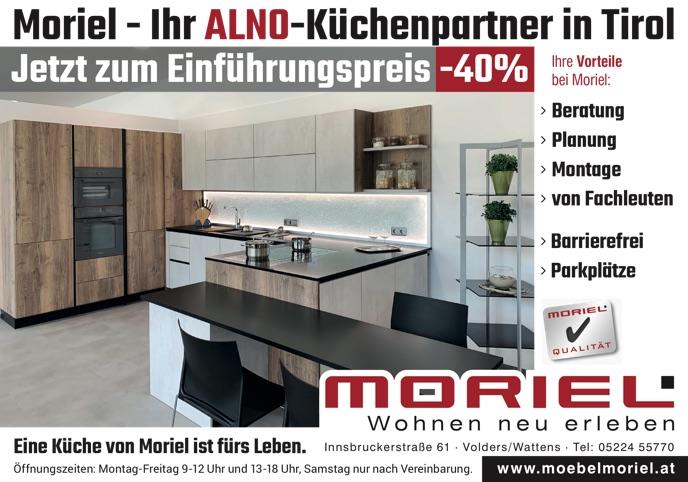Moriel - Ihr ALNO-Küchenpartner in Tirol